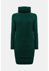 edc by Esprit - COWL NECK - Jumper dress - dark teal green - 9