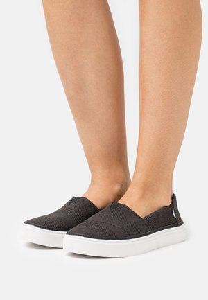 PARKER VEGAN - Sneakers basse - black