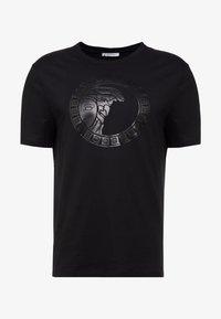 Versace Collection - GIROCOLLO REGOLARE - Print T-shirt - nero - 3