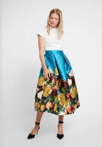 Closet - CAP SLEEVE DRESS - Cocktail dress / Party dress - blue - 2