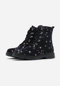 Richter - PRISMA - Lace-up ankle boots - blue - 1