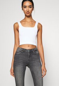 ONLY - ONLKENDELL LIFE - Jeans Skinny - medium grey denim - 3