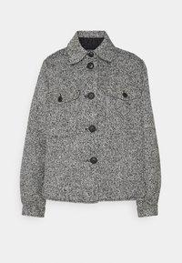 VMROSIETRINE SHORT JACKET - Summer jacket - black/white melange