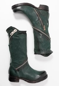 A.S.98 - Cowboy/Biker boots - balsamic - 3
