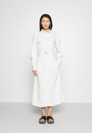 LONG SLEEVE CASUAL DRESS - Denim dress - natural