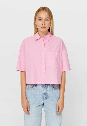 SHORT SLEEVE - Košile - pink