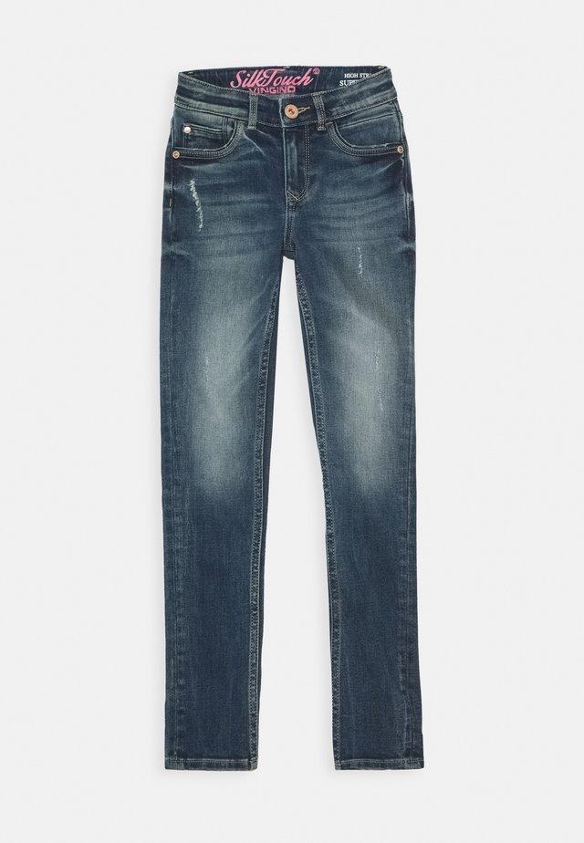 BELIZE - Skinny džíny - mid blue