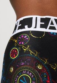 Versace Jeans Couture - Leggings - Trousers - black/multi coloured - 3