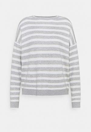 Sweter - grey melange