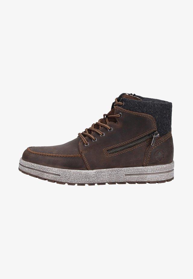 Sneakers hoog - brown