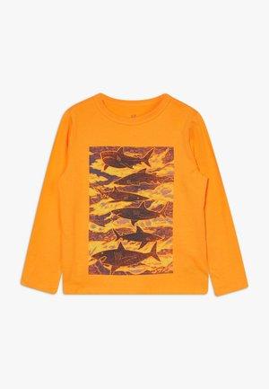 BOY - Top sdlouhým rukávem - oriole orange