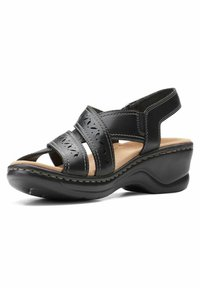 Clarks - LEXI PEARL - Sandals - black leather - 1