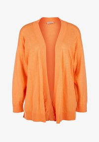 Triangle - MET EEN OPEN VOORPAND - Cardigan - orange - 6