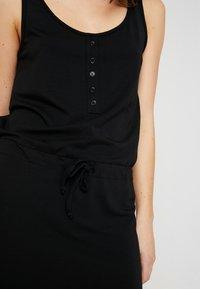 Object - OBJSTEPHANIE MAXI DRESS  - Maxi dress - black - 5