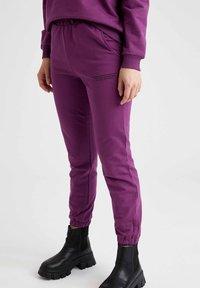 DeFacto - Tracksuit bottoms - purple - 2