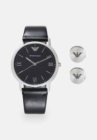 Emporio Armani - SET - Horloge - black - 0