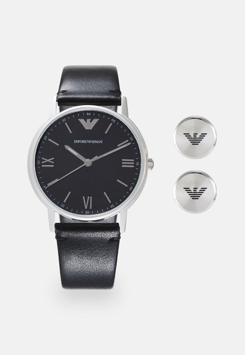 Emporio Armani - SET - Horloge - black
