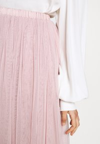 Lace & Beads Tall - VAL SKIRT - Áčková sukně - pink - 4