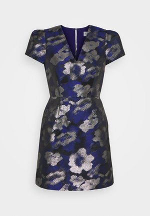 ATALIE BRUSH DRESS - Cocktail dress / Party dress - navy