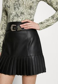 River Island - A-line skirt - black - 3