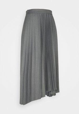 VEGGIA - A-line skirt - grey melange