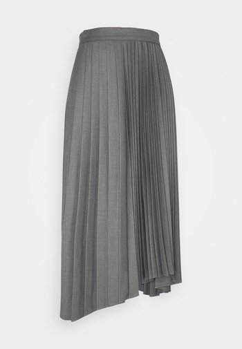 VEGGIA - A-linjainen hame - grey melange