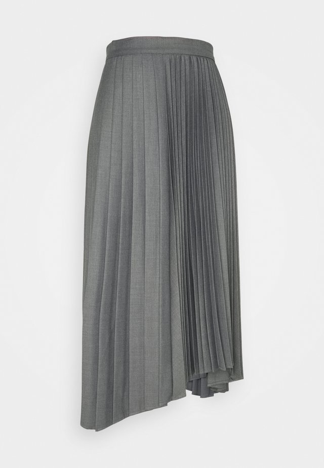 VEGGIA - Spódnica trapezowa - grey melange