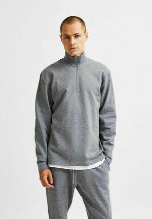 Sweatshirt - medium grey melange