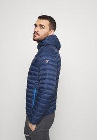 Champion - HOODED JACKET - Training jacket - blue - 3