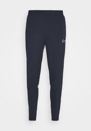 ACADEMY PANT - Pantaloni sportivi - obsidian/white