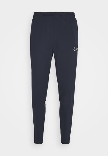 ACADEMY PANT - Tracksuit bottoms - obsidian/white