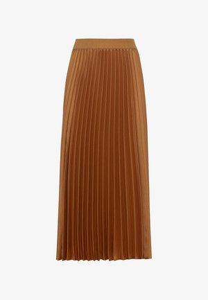 A-line skirt - curry