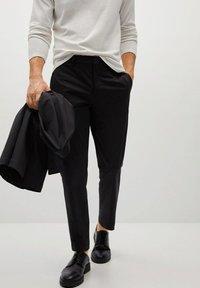 Mango - COOL - Trousers - schwarz - 0