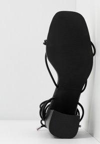 RAID Wide Fit - WIDE FIT JENNIFER - Sandals - black - 6