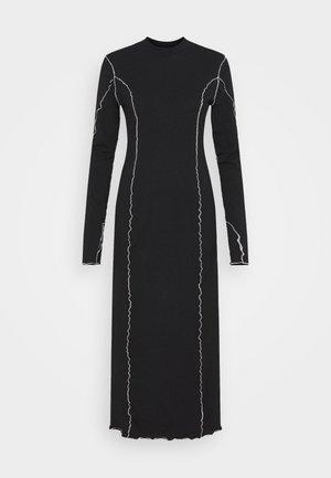 EMMY BABYLOCK DRESS - Jersey dress - black/white
