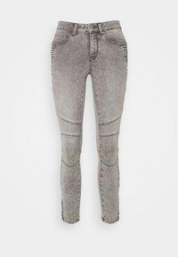 ONLROYAL LIFE ZIP - Jeans Skinny Fit - grey denim