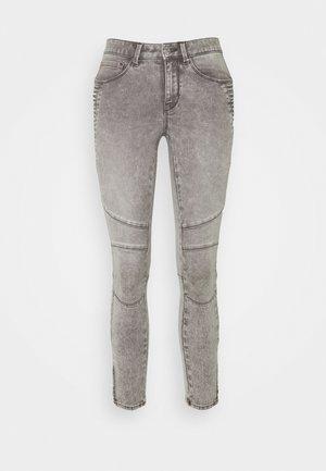 ONLROYAL LIFE ZIP - Skinny džíny - grey denim