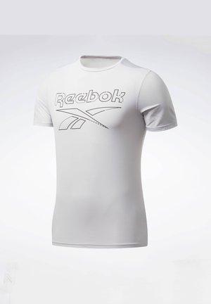 WORKOUT READY ACTIVCHILL T-SHIRT - Print T-shirt - white