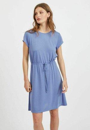 VIMOONEY STRING - Jersey dress - colony blue