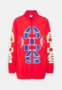 adidas Originals - WINDBREAKER - Training jacket - vivid red - 5