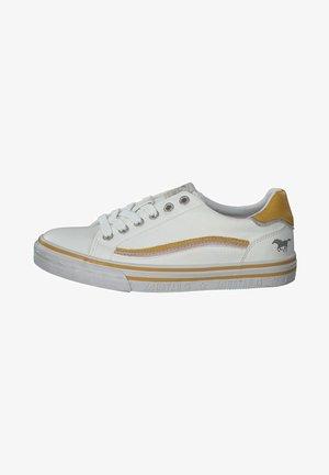 Sneakers - weiß/gelb