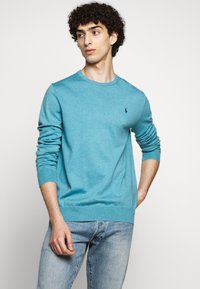 Polo Ralph Lauren - LONG SLEEVE - Pullover - captiva blue heather - 0