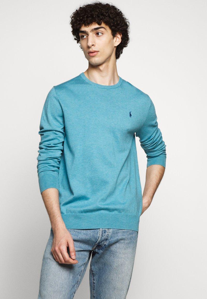 Polo Ralph Lauren - LONG SLEEVE - Pullover - captiva blue heather