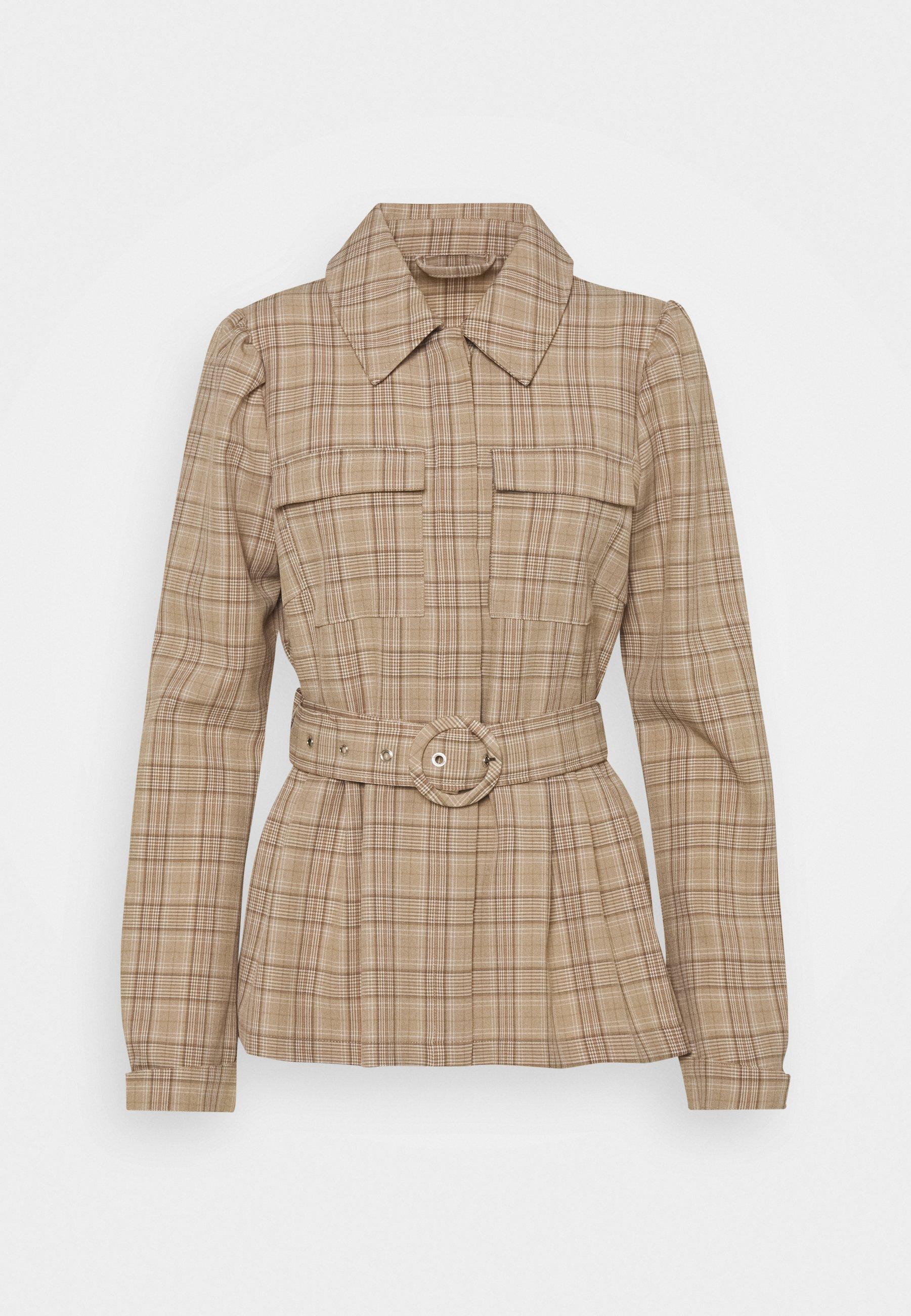 Women VIKRISTINA BELT JACKET - Summer jacket