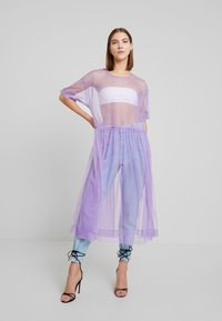 Monki - SILVIA DRESS - Korte jurk - tulle purple - 3