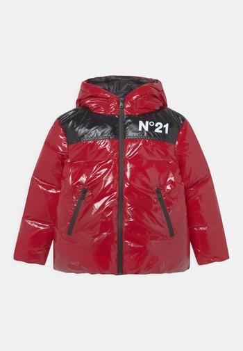 UNISEX - Down jacket - intense red