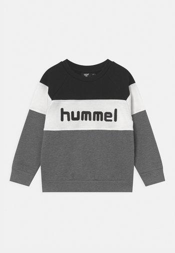CLAES UNISEX - Sweatshirt - black/medium melange