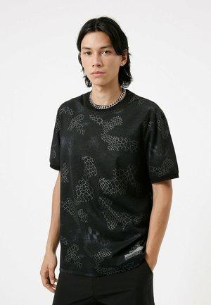 DITADELLE - Print T-shirt - black