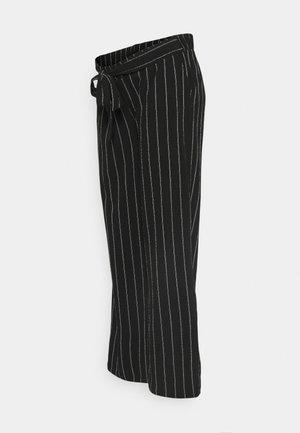 PANTS SOLIERA - Trousers - black