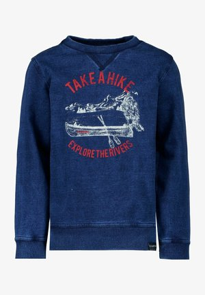 BLUE SWEATER - Sweatshirts - indigo